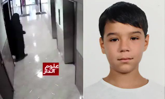 Horrifying moment 'man disguised in a burka lures schoolboy away to rape and murder him' https://t.co/NPI1Vuydml