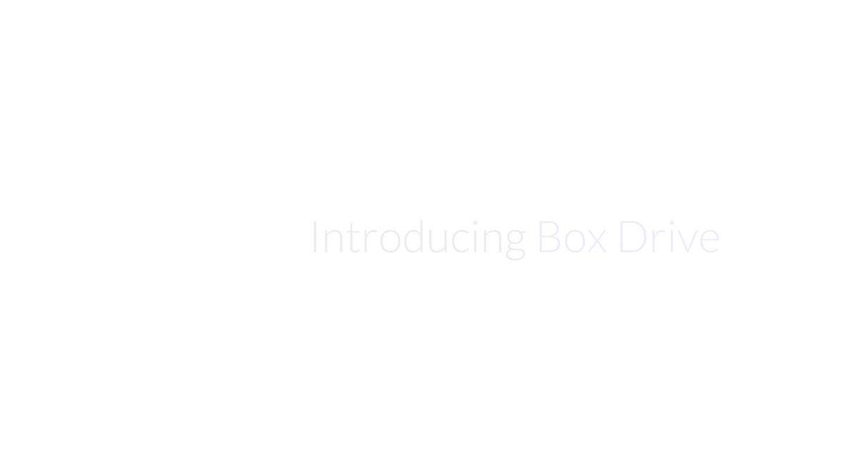 Desktop, meet cloud: Say hello to Box Drive. https://t.co/GOxh3fpnqs https://t.co/XdczDjBHR7