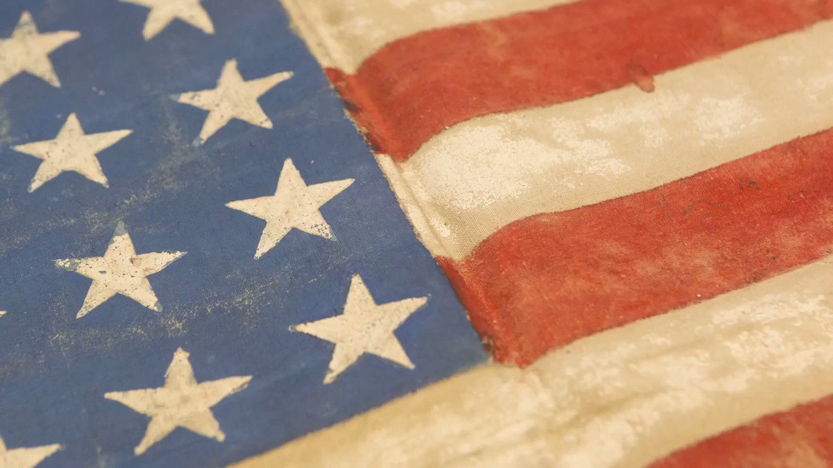 On #FlagDay, learn about a very special #AmericanFlag in our collection.