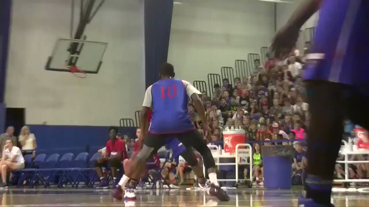 Malik Newman was out there dropping Tyshawn today - full highlights coming #kubball   @iammaliknewman https://t.co/t1IPzjVOuS