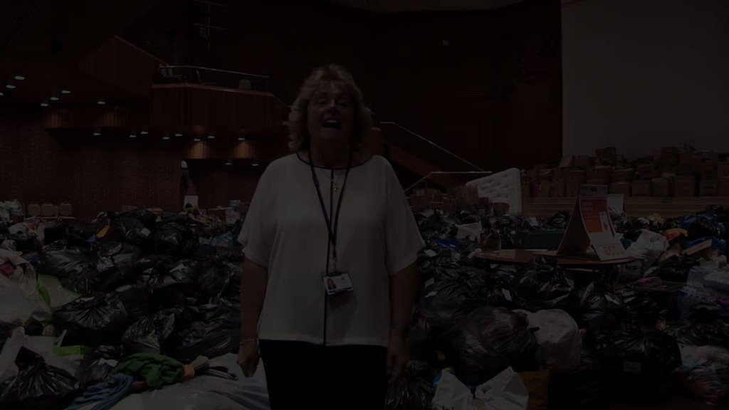 RT @RBKC An update on donations received at Kensington Town Hall following the tragic fire at Grenfell Tower.