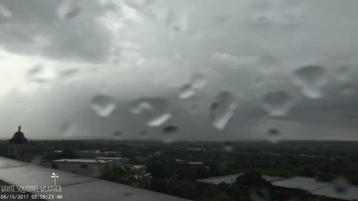 Here's a short movie showing some of the storms this morning. #WKU
