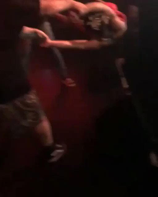 Security accidentally threw XXXTentacion into the barrier instead of the crowd