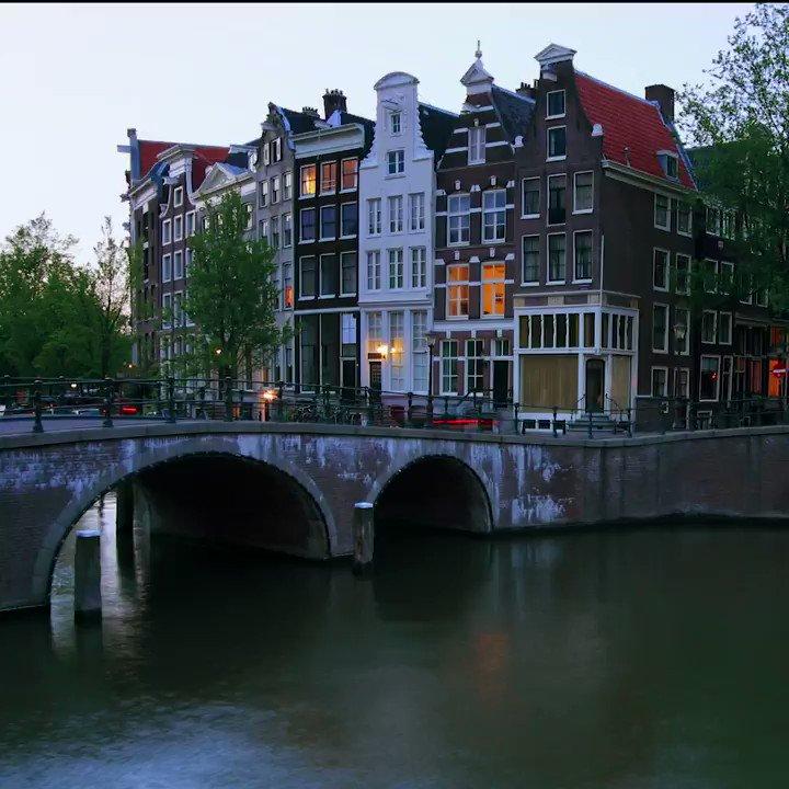 Floating through Friday! #Amsterdam