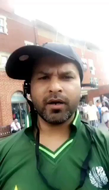 "Trolling level: Pakistan+ / ""Where you guys leaving.. still have a chance."" #INDvPAK https://t.co/xmjXyQe4VF"