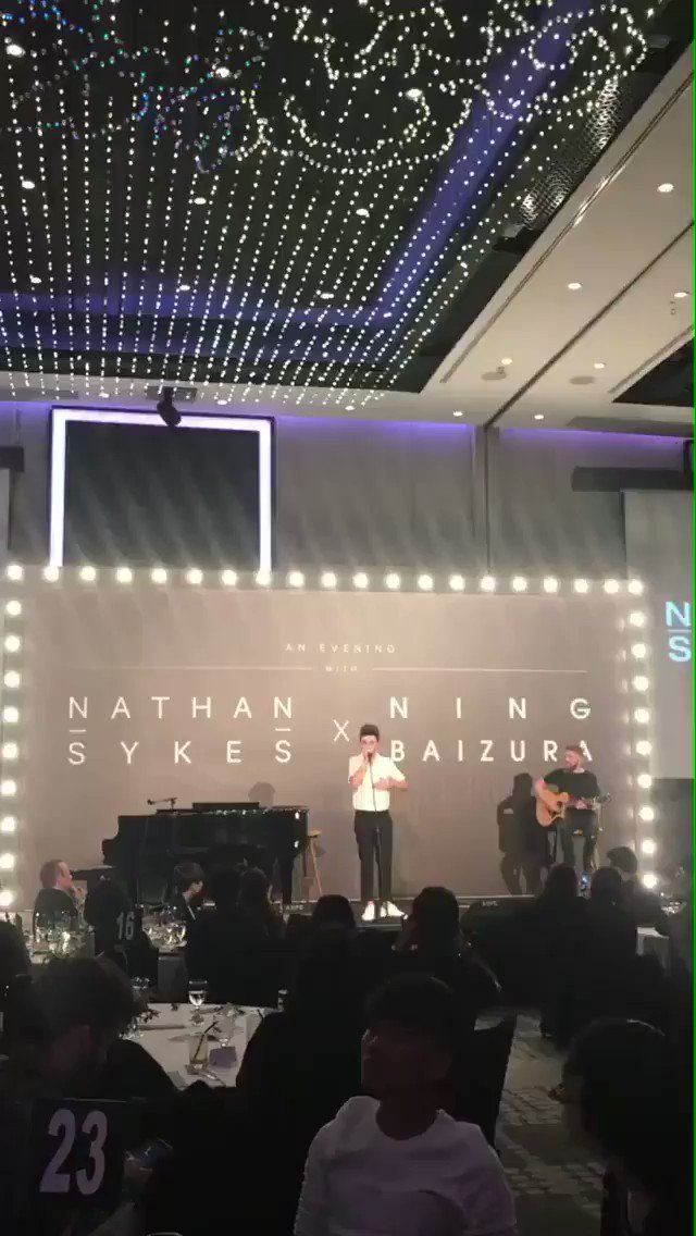 "Here's a clip from tonight's show, ""Musical Stand-Up with Nathan Sykes"" https://t.co/hJJWWcs65G"