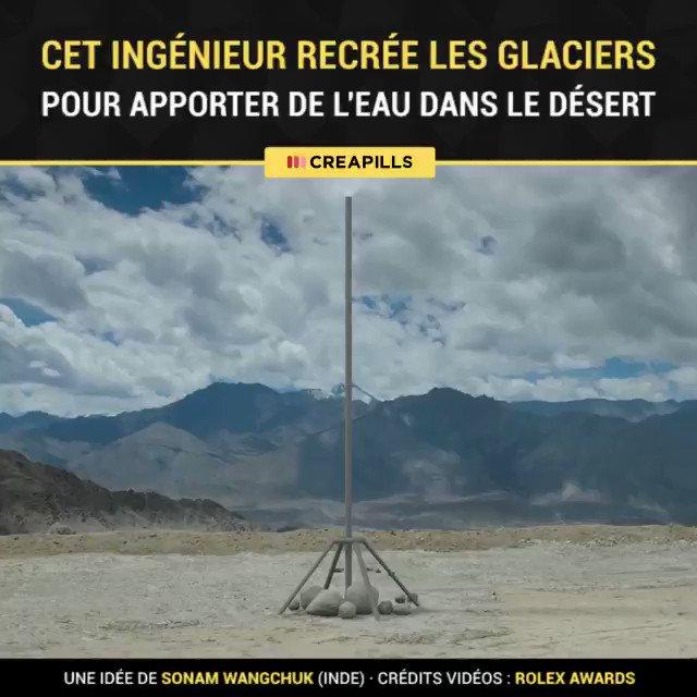 Cet ingénieur a changé la vie des habitants d'un des déserts les plus élevés au monde ! Faites tourner son idée ❤️