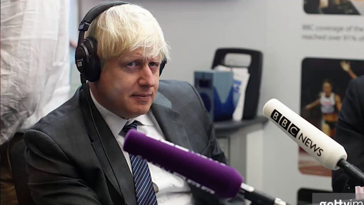 The most hilarious thing you will see today, this week, this month even. Boris Johnson car crash interview! SHARE  https://t.co/ciwYVCzDCH
