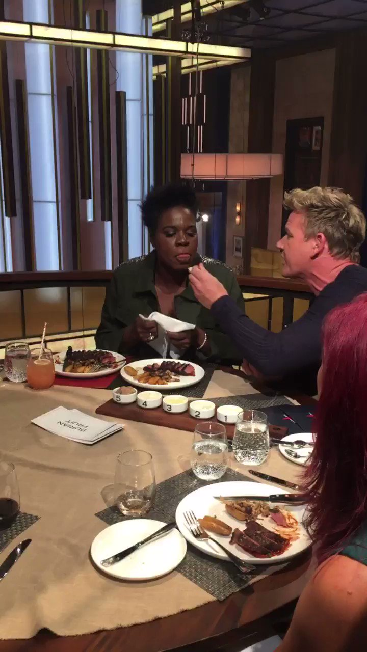 F stands for FUN ! A quick little taste test with @Lesdoggg ! #TheFWord https://t.co/MQhNktdFkO