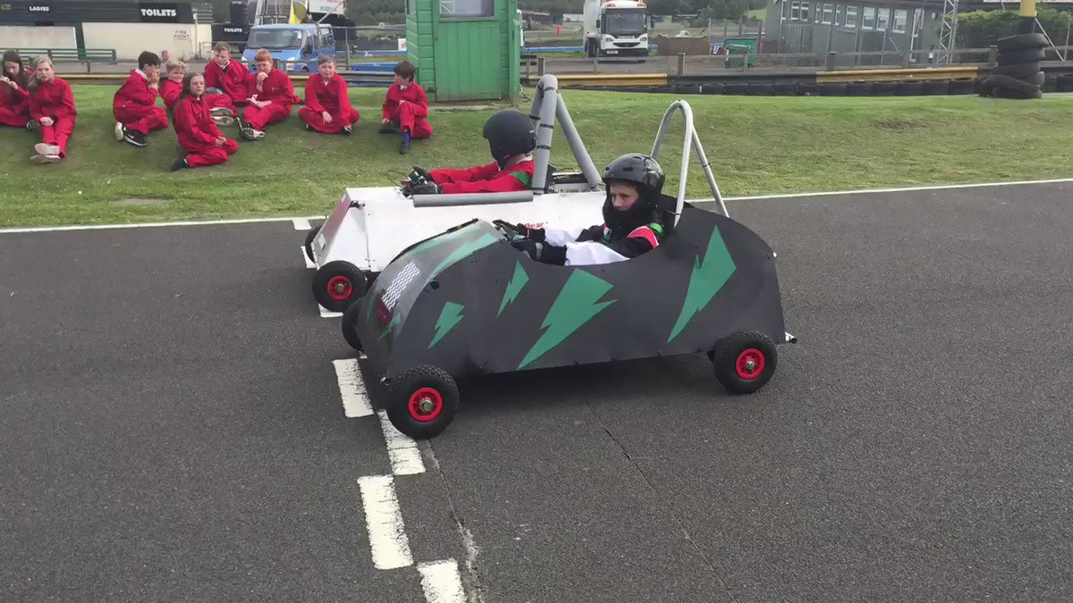 And they're off! @krcircuit @Greenpowertrust