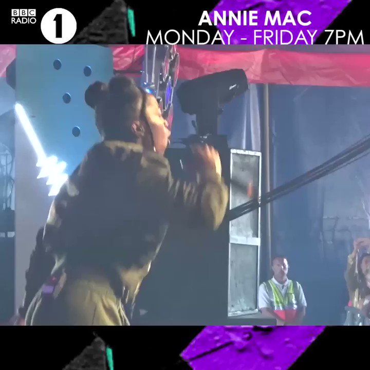 RT @BBCR1: 💥 @nadiarosemusic gets the party started for @AnnieMac at Glastonbury 💫  Listen 👉 https://t.co/48RuyzVNDg https://t.co/OQSgEddyKL