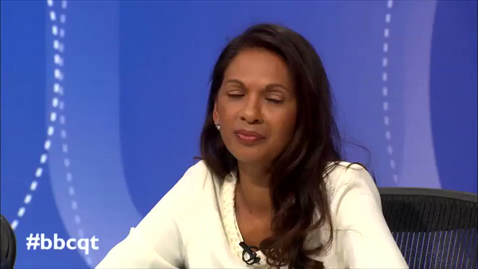 When David Dimbleby tells you to go, YOU GO. #bbcqt