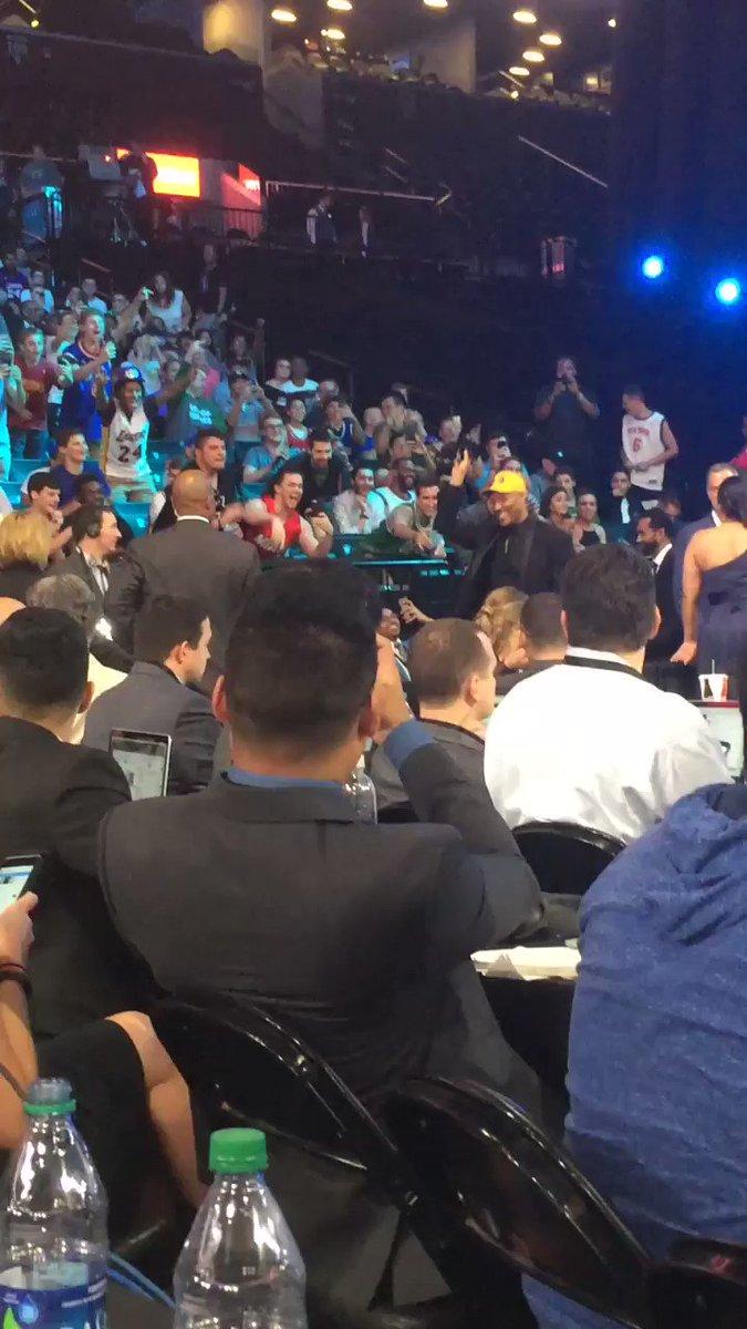 LaVar Ball is the world's best heel. One lucky fan is walking away wit...