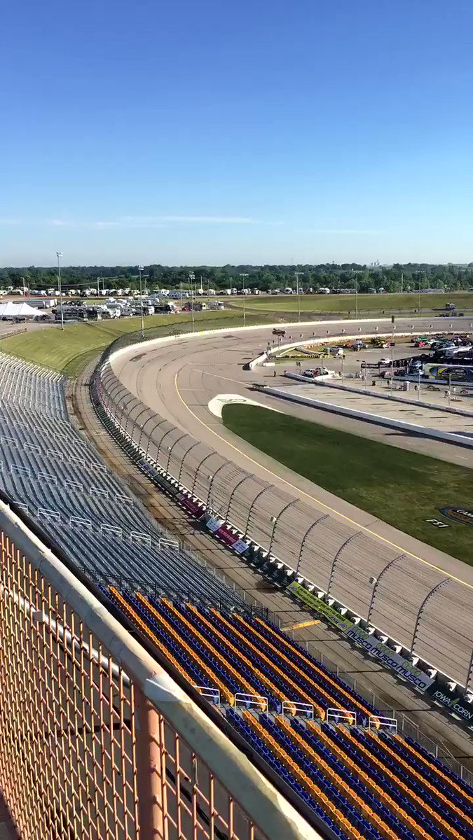 Rise and shine, race fans. Let's get this show on the road, er, oval!...