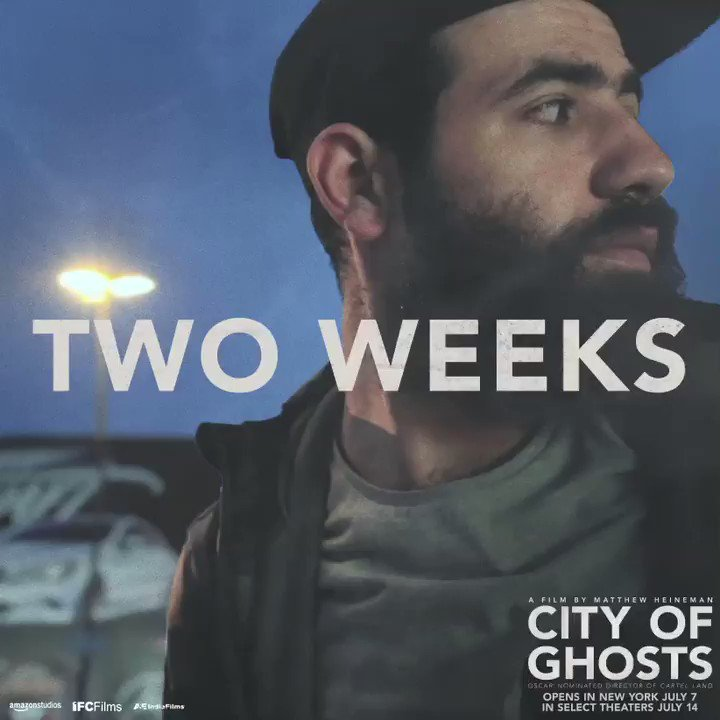 #CityofGhosts uncovers the truth about Raqqa through the eyes of its fearless citizen journalists. Opens in NYC 7/7 & select theaters 7/14.