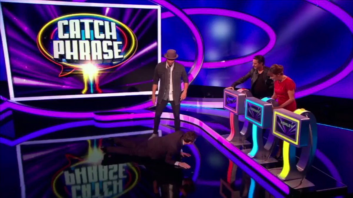 You've only got 1 hour to see me attempt #TheWorm on #Catchphrase coac...