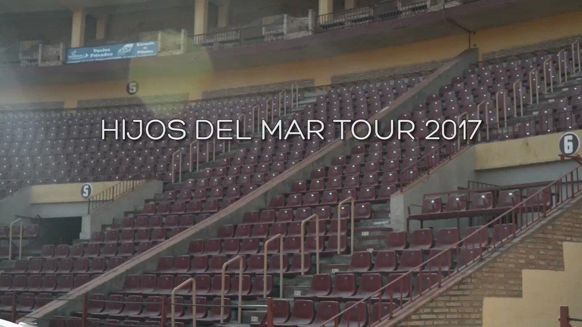 Grande anoche Córdoba con #HijosDelMarTour2017!! Y esta noche más con...