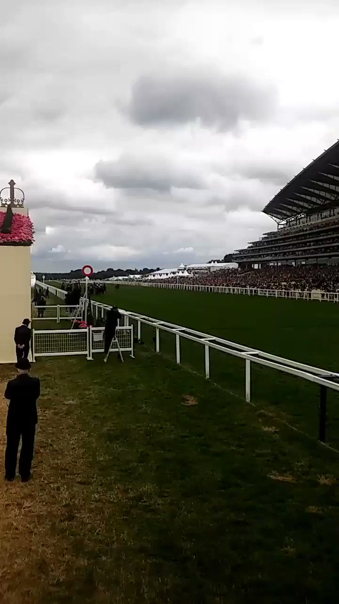 Here comes The Tin Man! #RoyalAscot https://t.co/LzKGRY1n5P