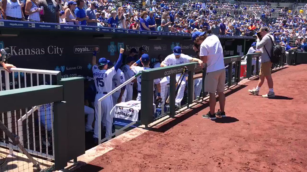 Your Kansas City #Royals, everyone. 🙌 Let's play ball! https://t.co/yz...