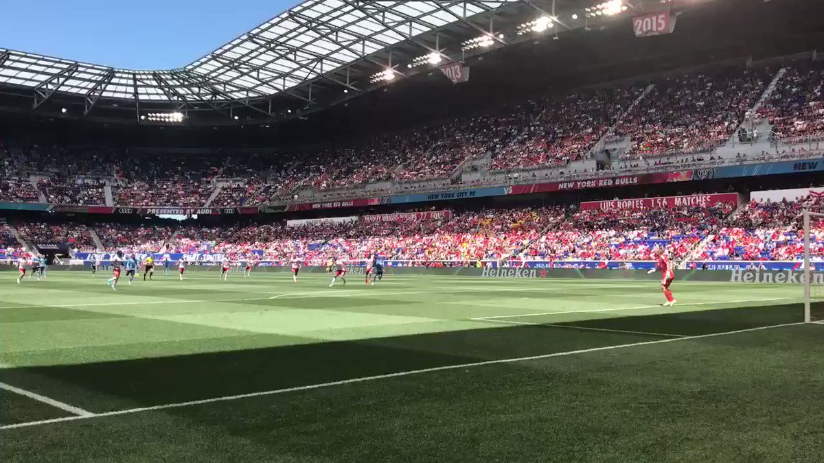 What an effort by Luis Robles!! 🚫  #NYvNYC | #RBNY https://t.co/S1Slos...