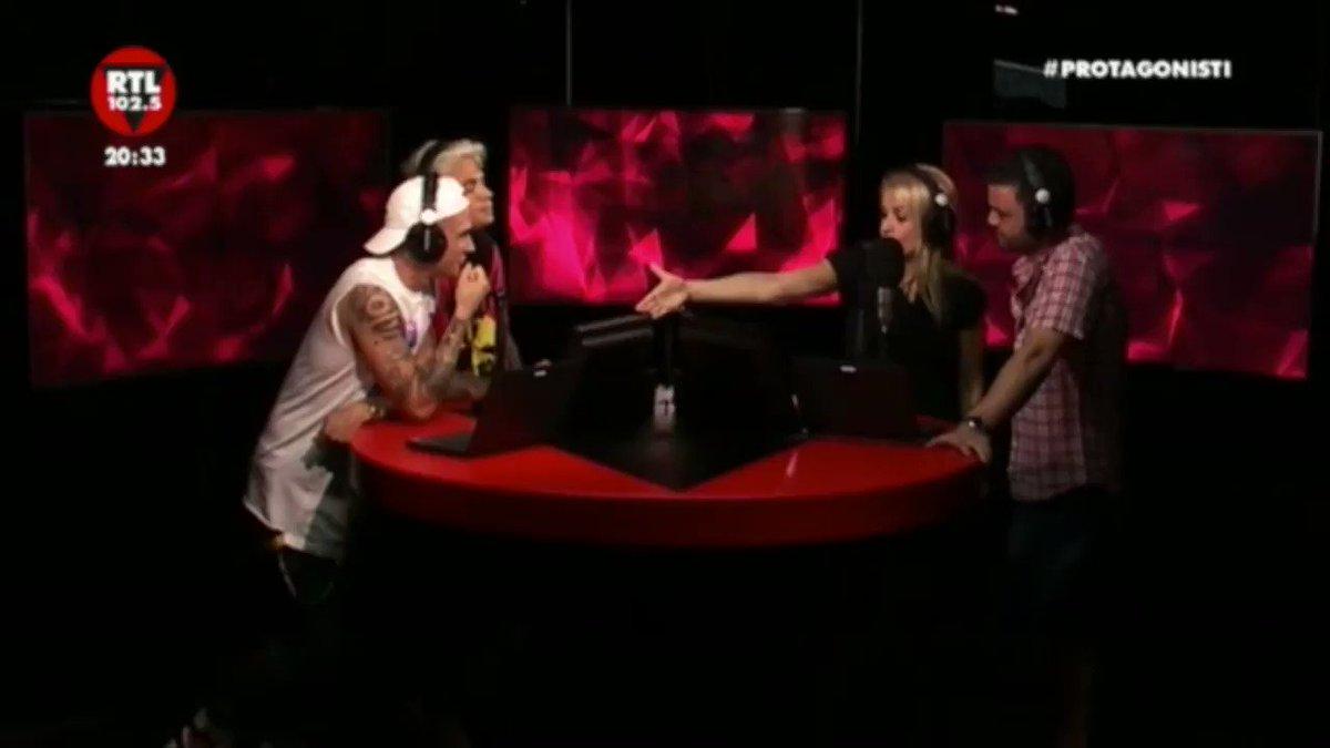 .@BenjieFede speaker speciali di RTL 102.5 ❤️ @MaxPezzali, il lancio è...