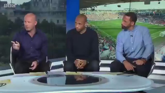 Thierry Henry being ripped about his handball against Ireland will forever be funny. https://t.co/sTeS4pPYE4
