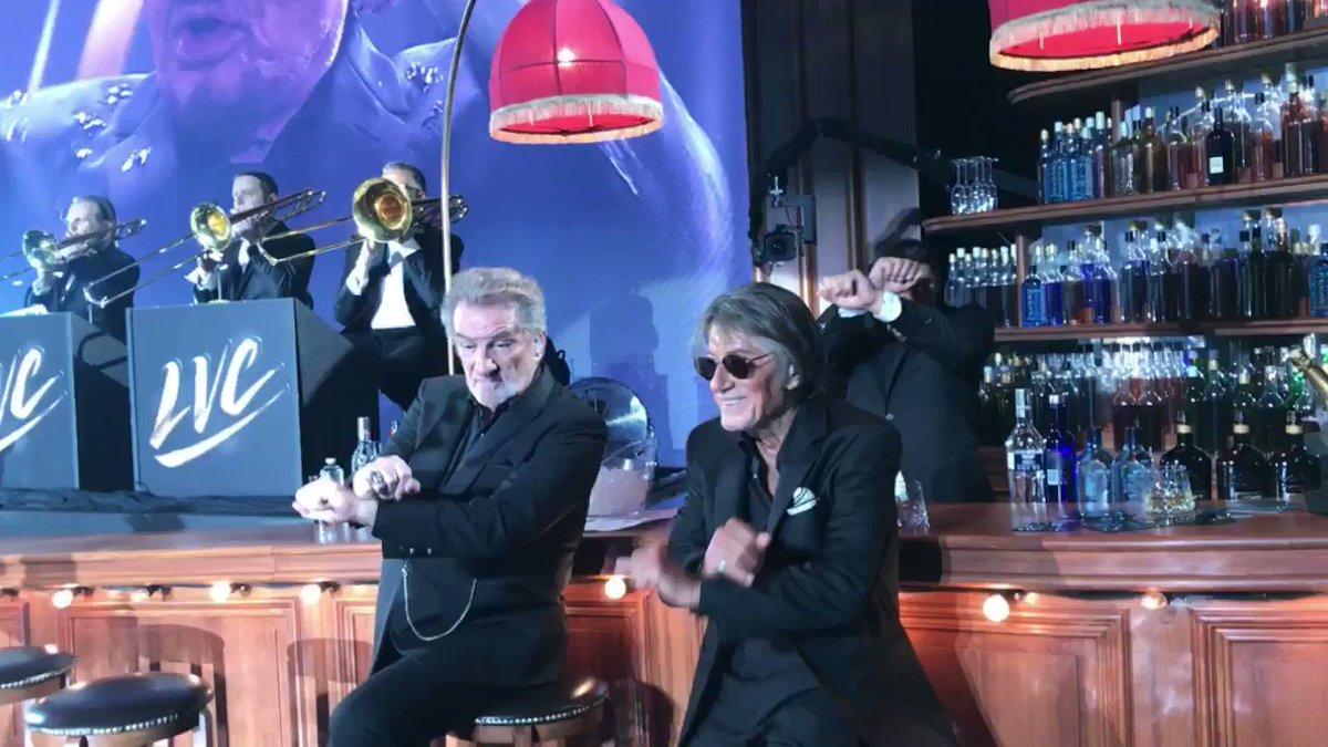 Excellent ! :) #LesVieillesCanailles  Toujours depuis le bar... Avec '...