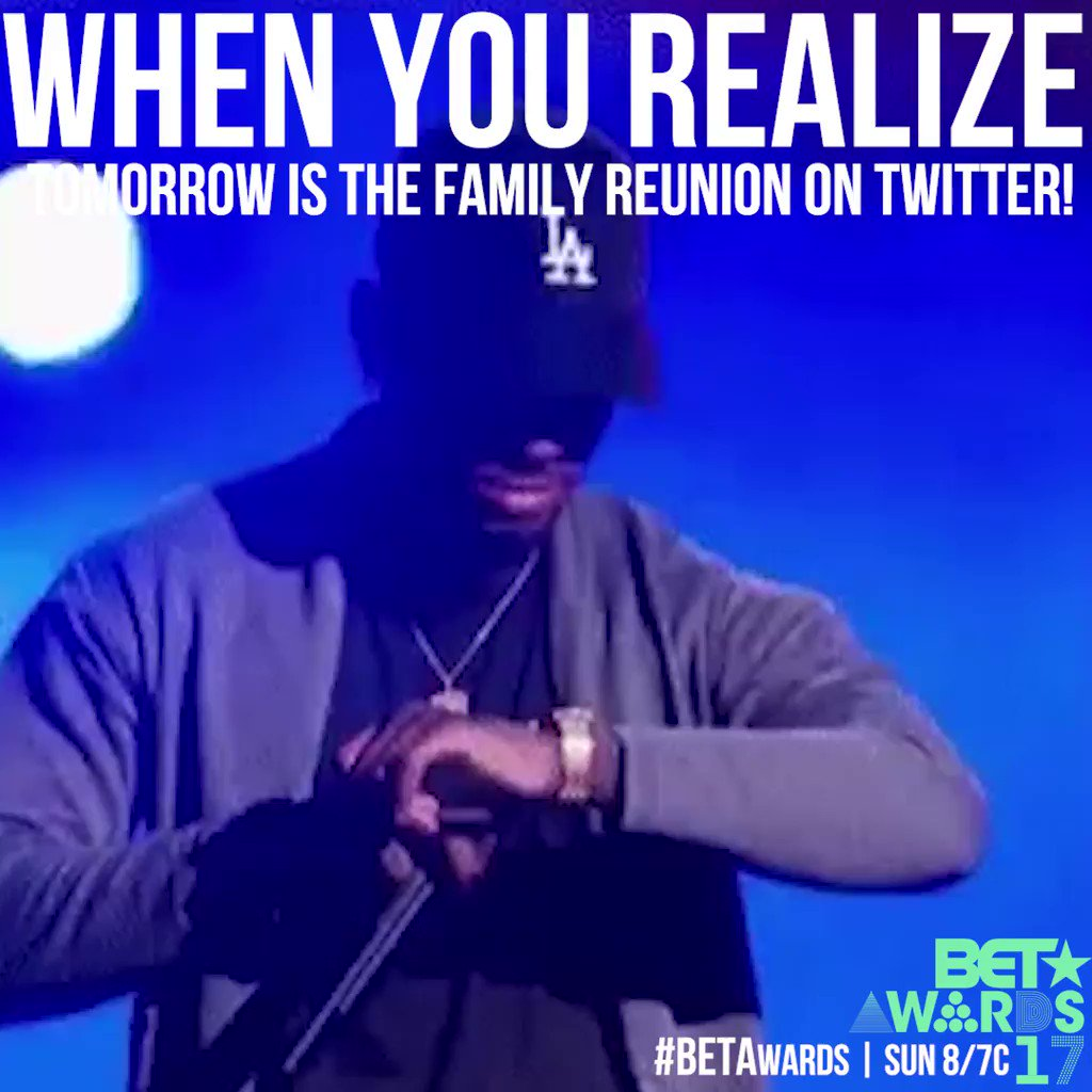 LITTY! Tomorrow it's going down! #BETAwards https://t.co/AFA0mbvddy