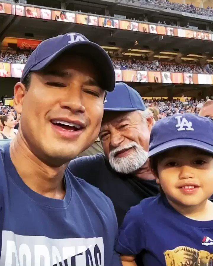 It's time for @Dodgers baseball!!!!  #LA   #LopezBoys   #VivaLosDodgers