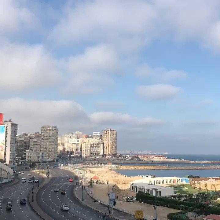 #سأدعم_سياحة_مصر  ..   #صباح_الخير  من #الاسكندرية https://t.co/pM8XDg...