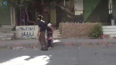 #يخبرني_الصباح بأن لاتوجد فرحة بالعالم تضاهي فرحة أطفال سوريا بالعيد...