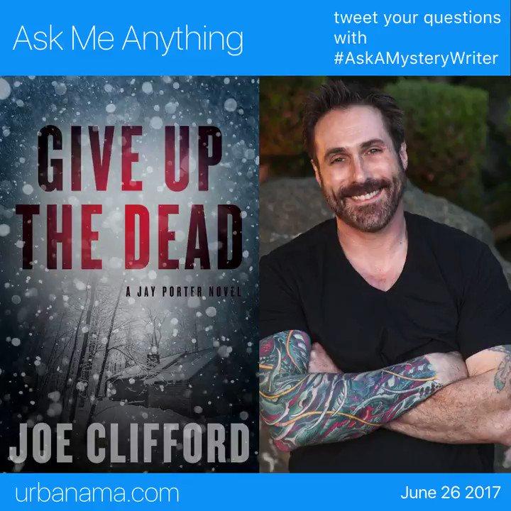 Acclaimed mystery writer Joe Clifford @j...