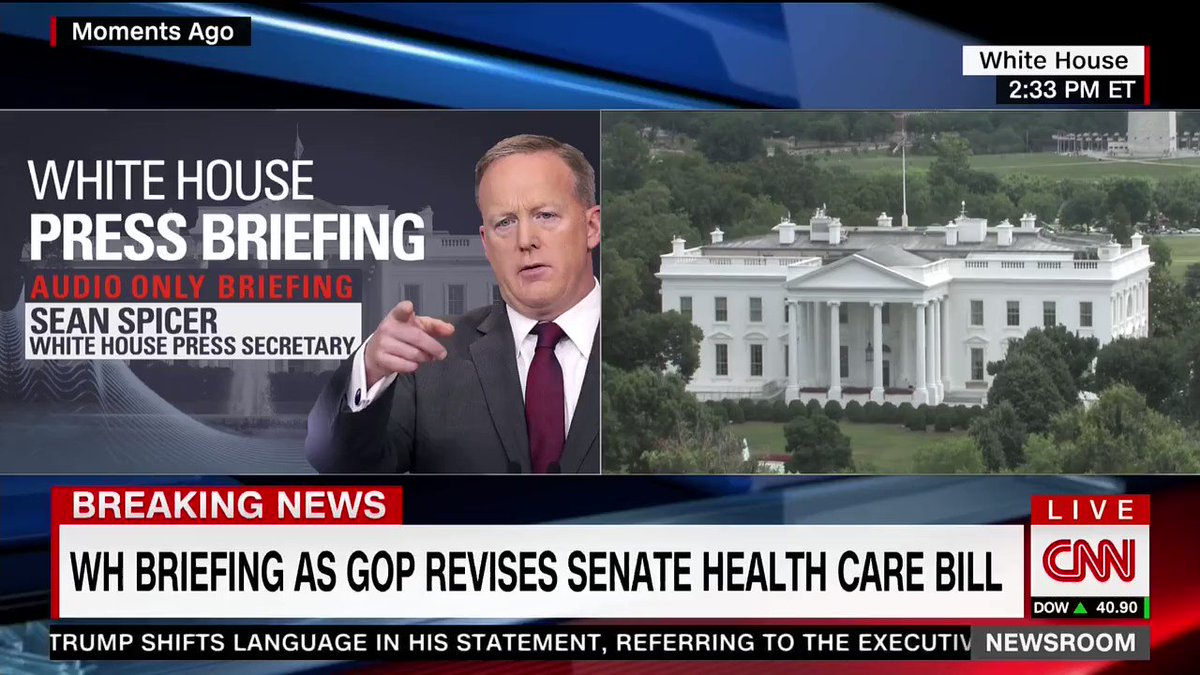 'Turn The Cameras On, Sean': Spicer Is Taunted At Press Briefing