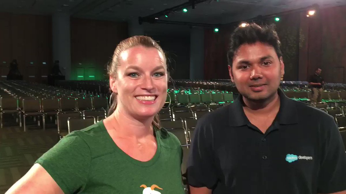 Join @gilliankbruce & @SfdcKiran via @SalesforceLive at 9:30am Wed 6/28 to kick off #TDX17 in the pre-keynote show! https://t.co/9KXdbub2QV