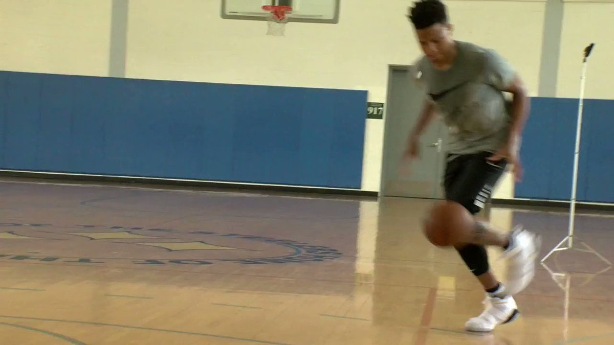 Check out @MarkelleF with the filthy windmill. #F2G https://t.co/CsFVfPAS1E