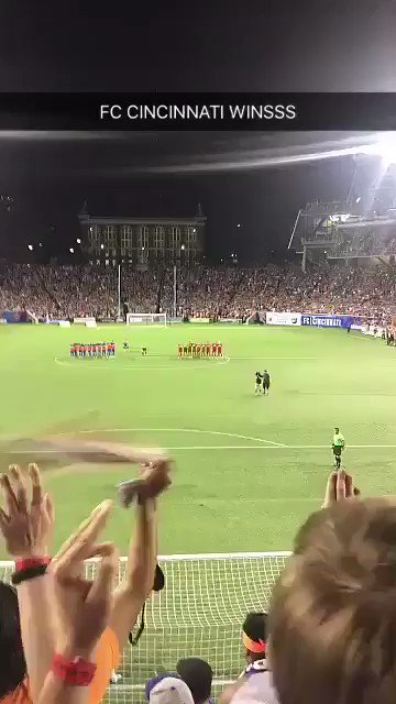 SCENES IN CINCINNATI! #FCCincy advance i...
