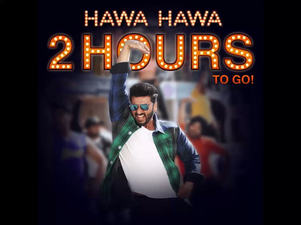 Only 2 hours to go for all the raita phelaoing! #HawaHawa #Mubarakan h...