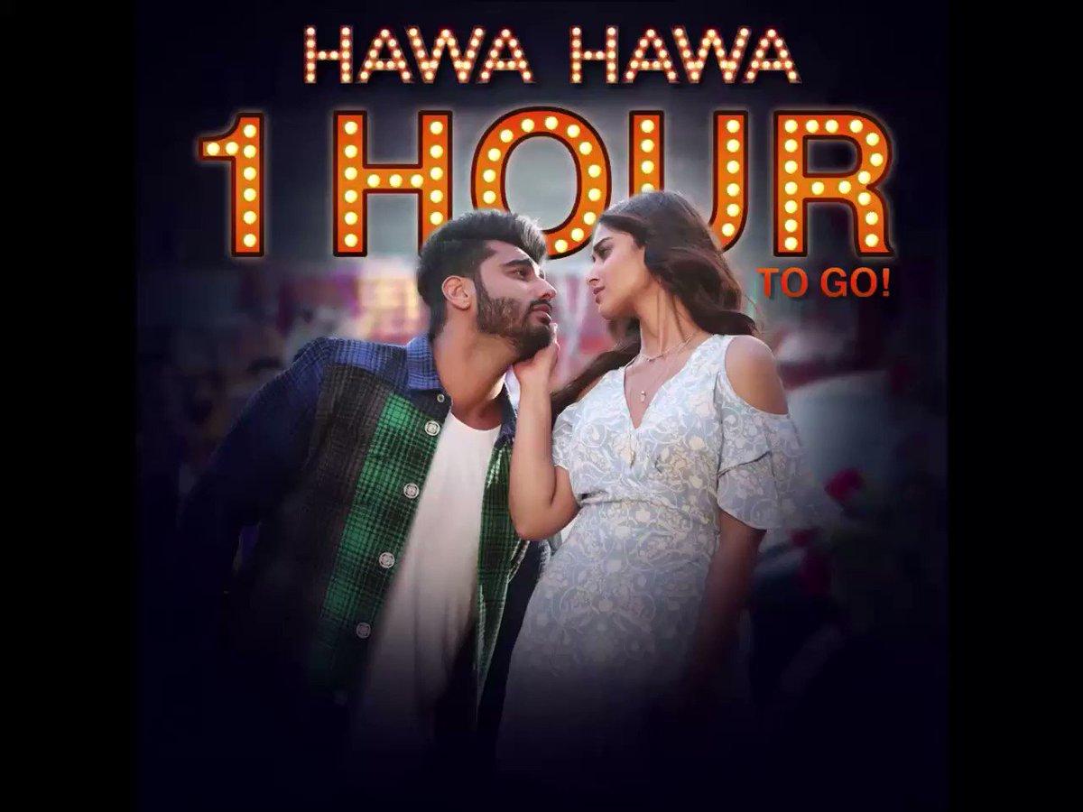 Raita phaelega in 1 hour. #HawaHawa #Mubarakan. https://t.co/5JBwILZZx...