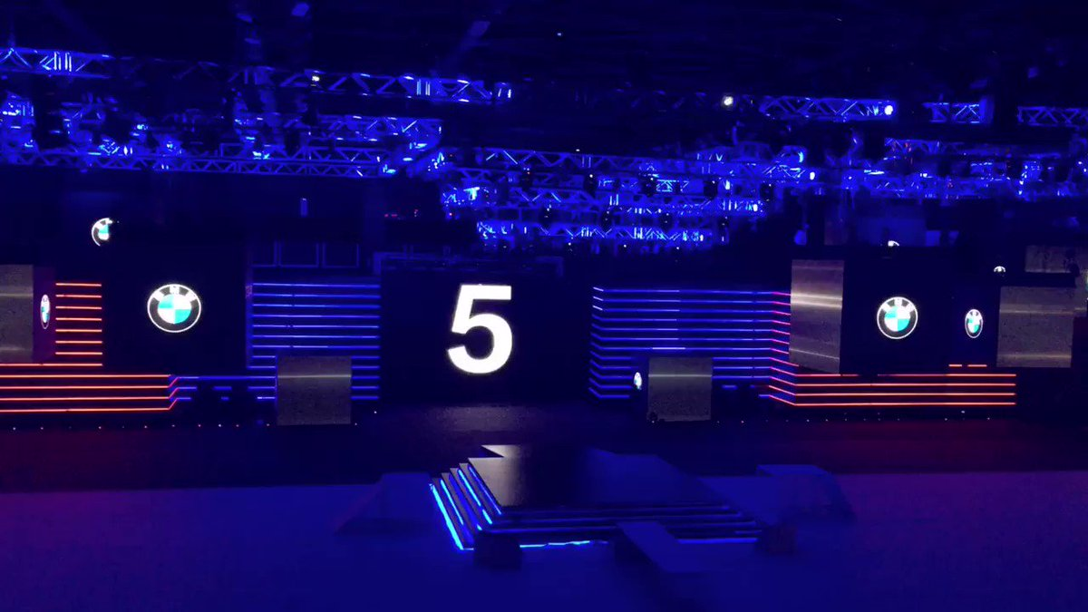 5 goes LIVE. #AllNewBMW5Series launch in Mumbai. Stay with us for live...