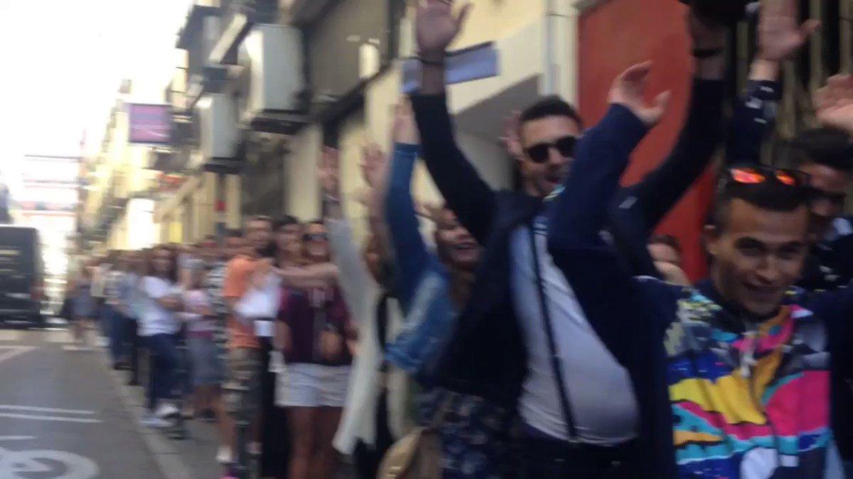 ¡No puede haber mejor ambiente en el #CastingGH de Madrid! ¿Quién será...