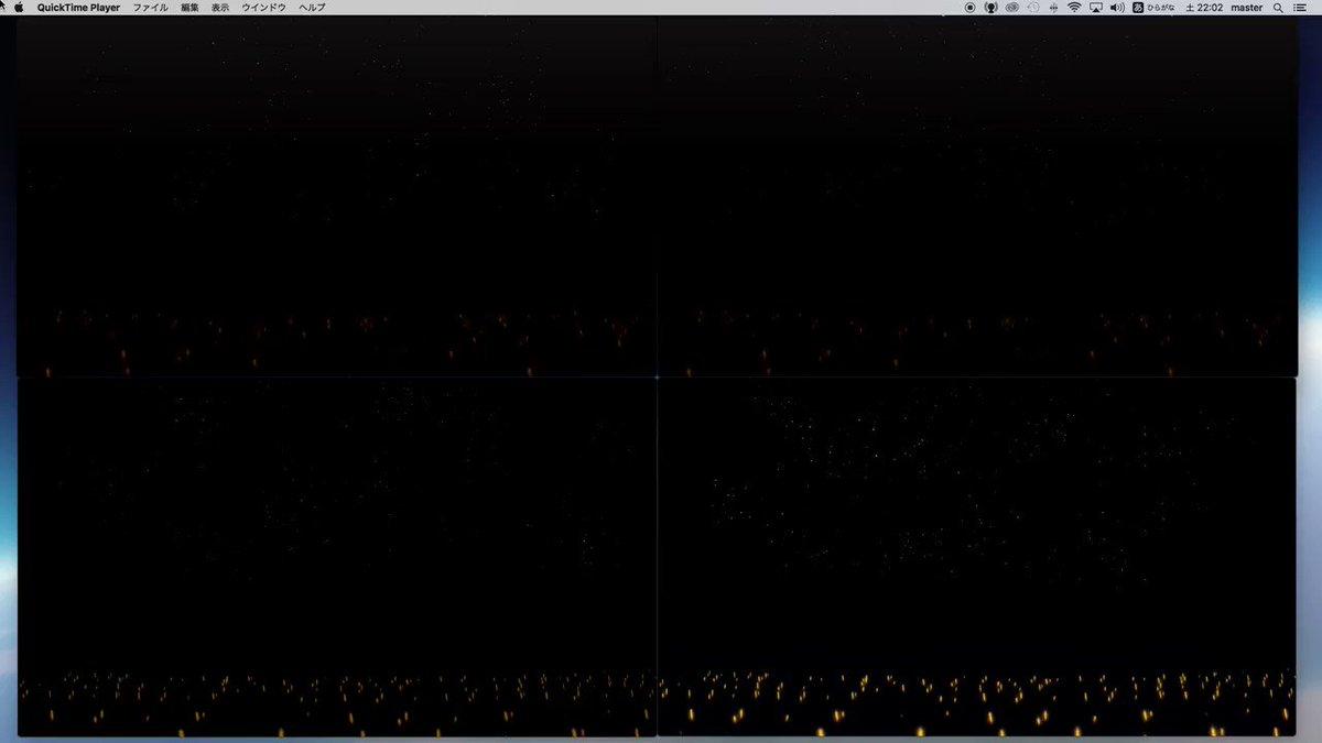 リッチモード、ドットバイドットの比較動画を作成しました。 MV撮影時の参考になればと思います。 左上:リッチ+ドットバイドット 右上:リッチ 左下:ドットバイドット 右下:何もなし(イベント中撮影) #デレステ