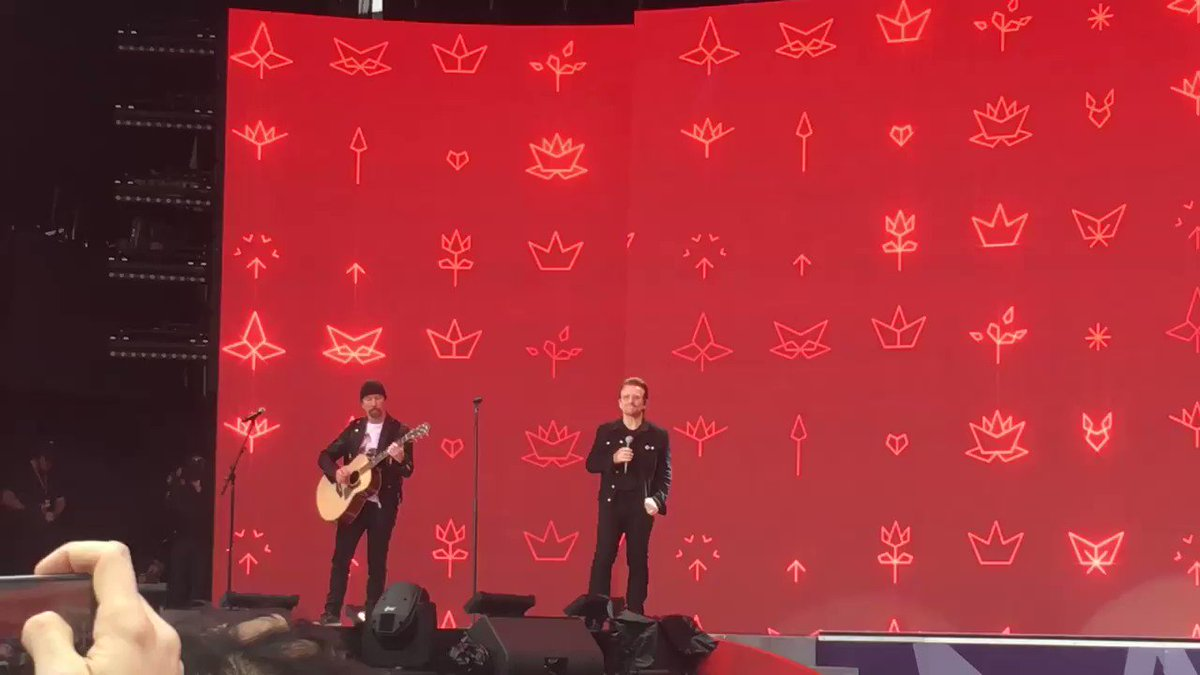 Bono speaking about #Canada150 https://t.co/4n87mb8CaW