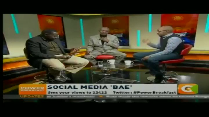 Find out what Pst Kuria had to say on the social media 'bae'. This & more interesting conversations on Man Cave every Tue on #PowerBreakfast