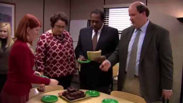 When Toby returned & Michael didn't even notice