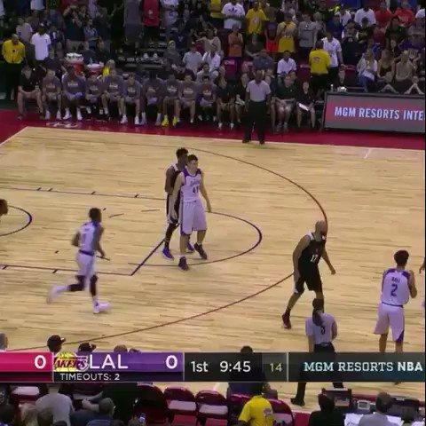 Lonzo Ball x Brandon Ingram! #NBASummer on ESPN