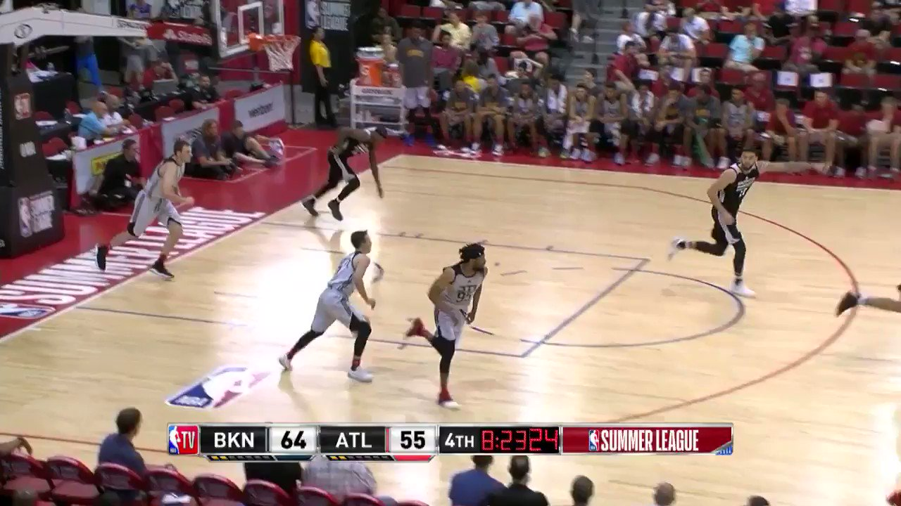 Thumbnail for Hawks Fans Celebrate Bembry's Impressive Summer League Performance