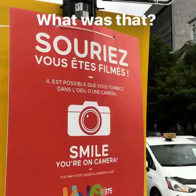 Et voilà!! 💁🏻 Camera ready for you @Mtlcomiccon 🕺🏻 #montreal #MtlComiccon #candid x https://t.co/Rml
