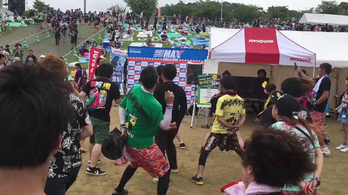 京都大作戦3日目のカラオケコーナーは推定7歳児がホルモンのFを歌ってフロアをぶち上げています