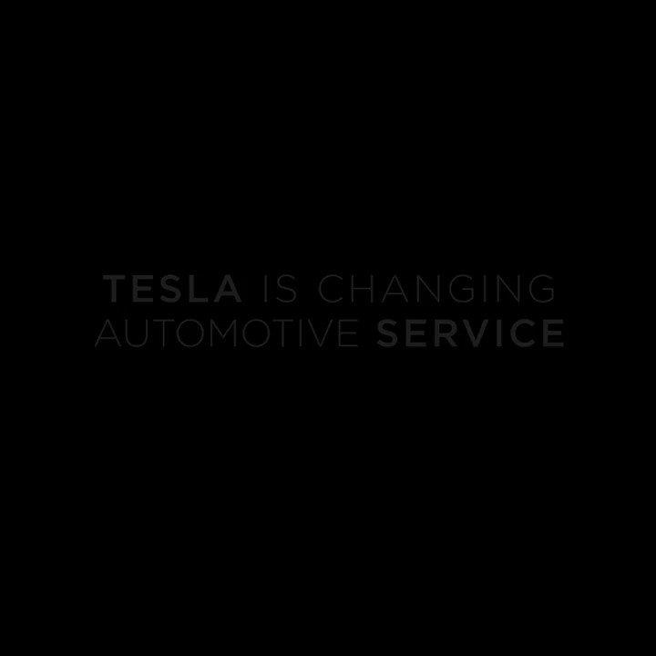 The future of Tesla service