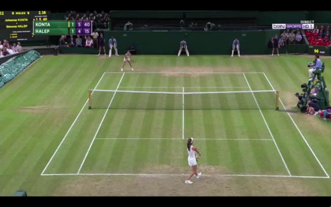 British fair play ? #Wimbledon #Konta #M...